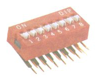 DIP Switch  - Electronic Components Pty Ltd