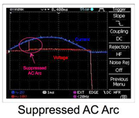 Suppressed-AC-Arc-With-NOsparc